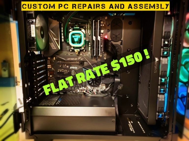 custom pc repair